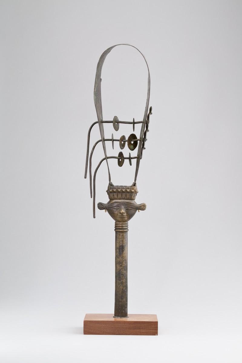 Public Domain photo of Sistrum of the Chantress Tapenu   Egyptian New Kingdom–Late Period