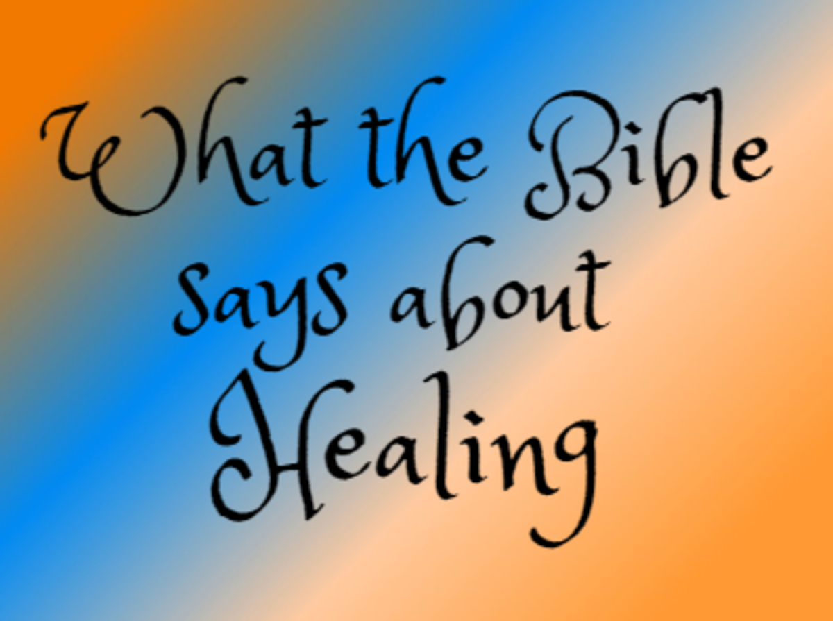 What the Bible Says About Healing