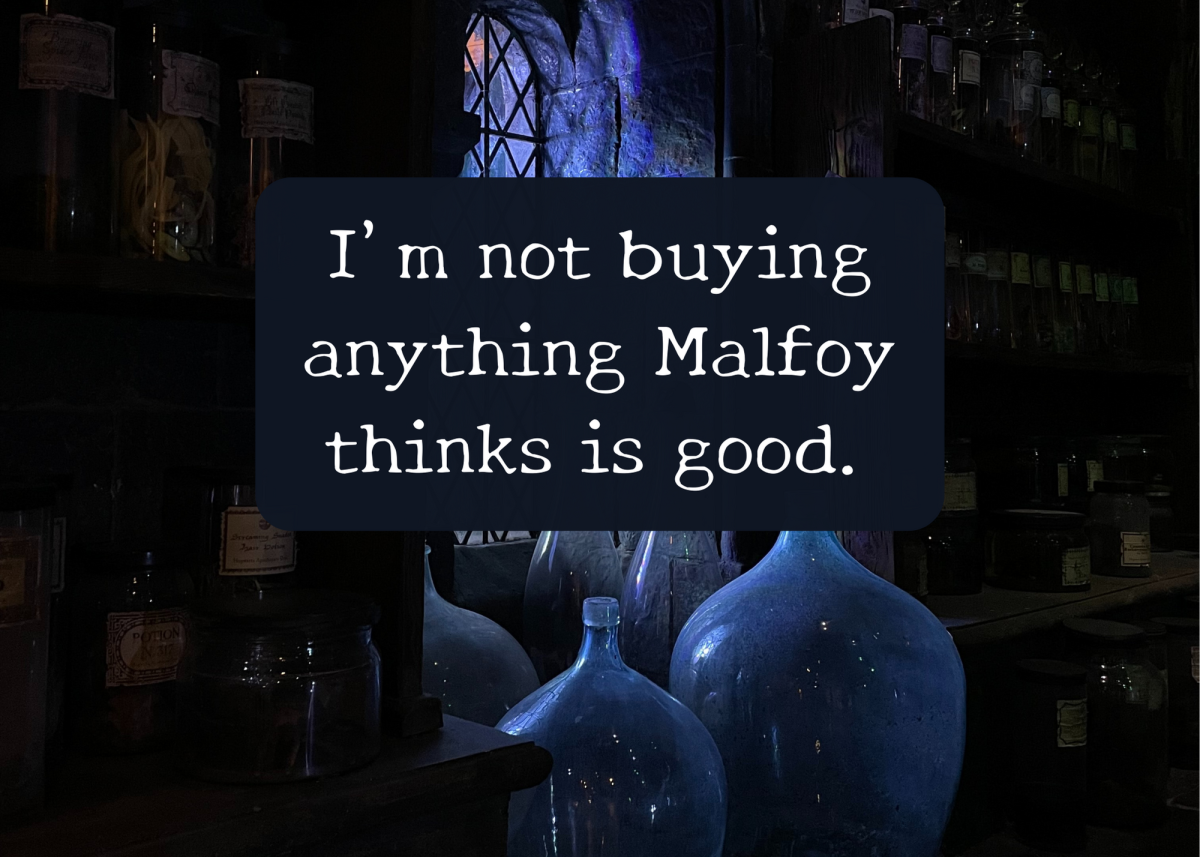 Harry often talks about how much he dislikes Draco Malfoy.