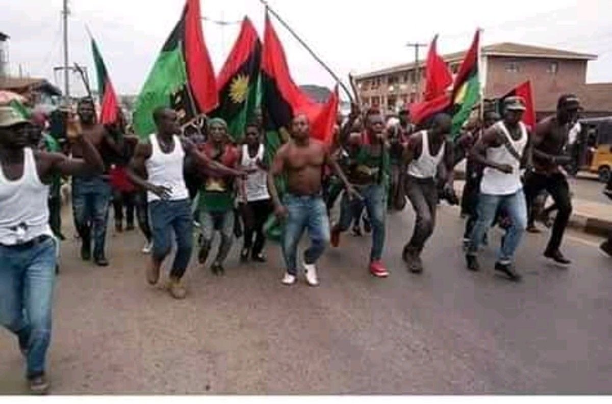 Biafra Exit; We Are Ipob Nnamdi Kanu Is Our Leader