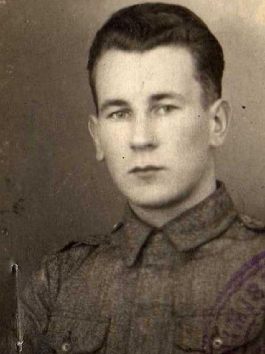 my grandfather Hugo Armas Edward Hyttinen