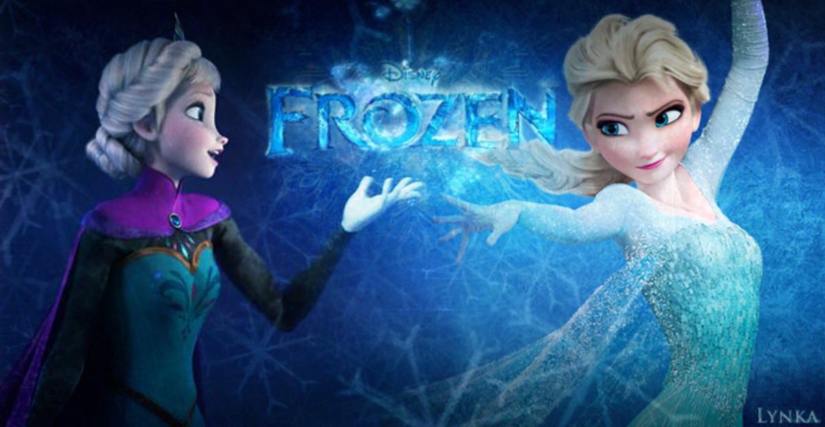 """""""Elsa"""" from the Disney Movie: """"Frozen""""...Froze her whole kingdom at once. Much to the icy cold amusement of animation for young kids everywhere!"""
