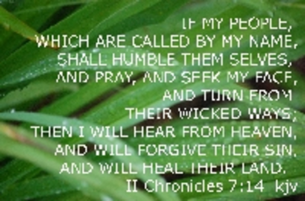 If our country will turn back to God, He promises in His Word, He will bless us and heal our hurting nation!