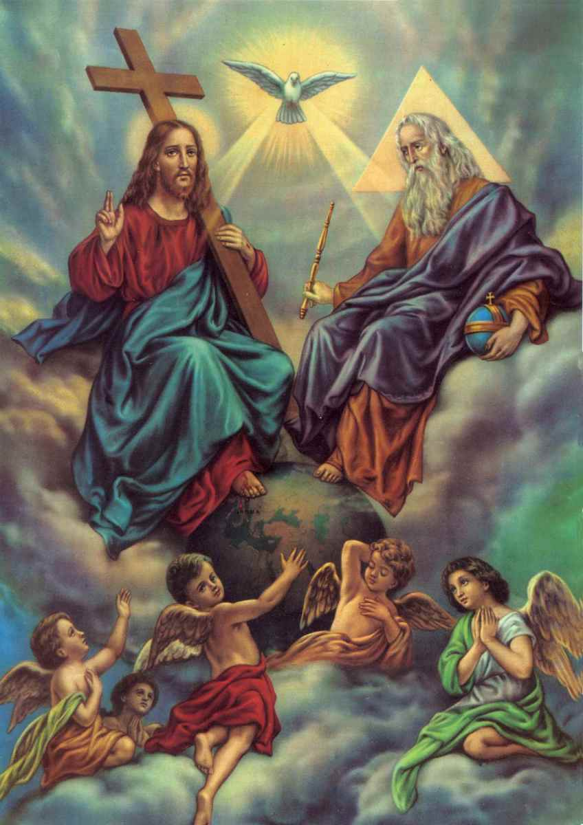 Jesus at the right hand of God, the Father.  Jesus is our advocate and defender!  Praise God!