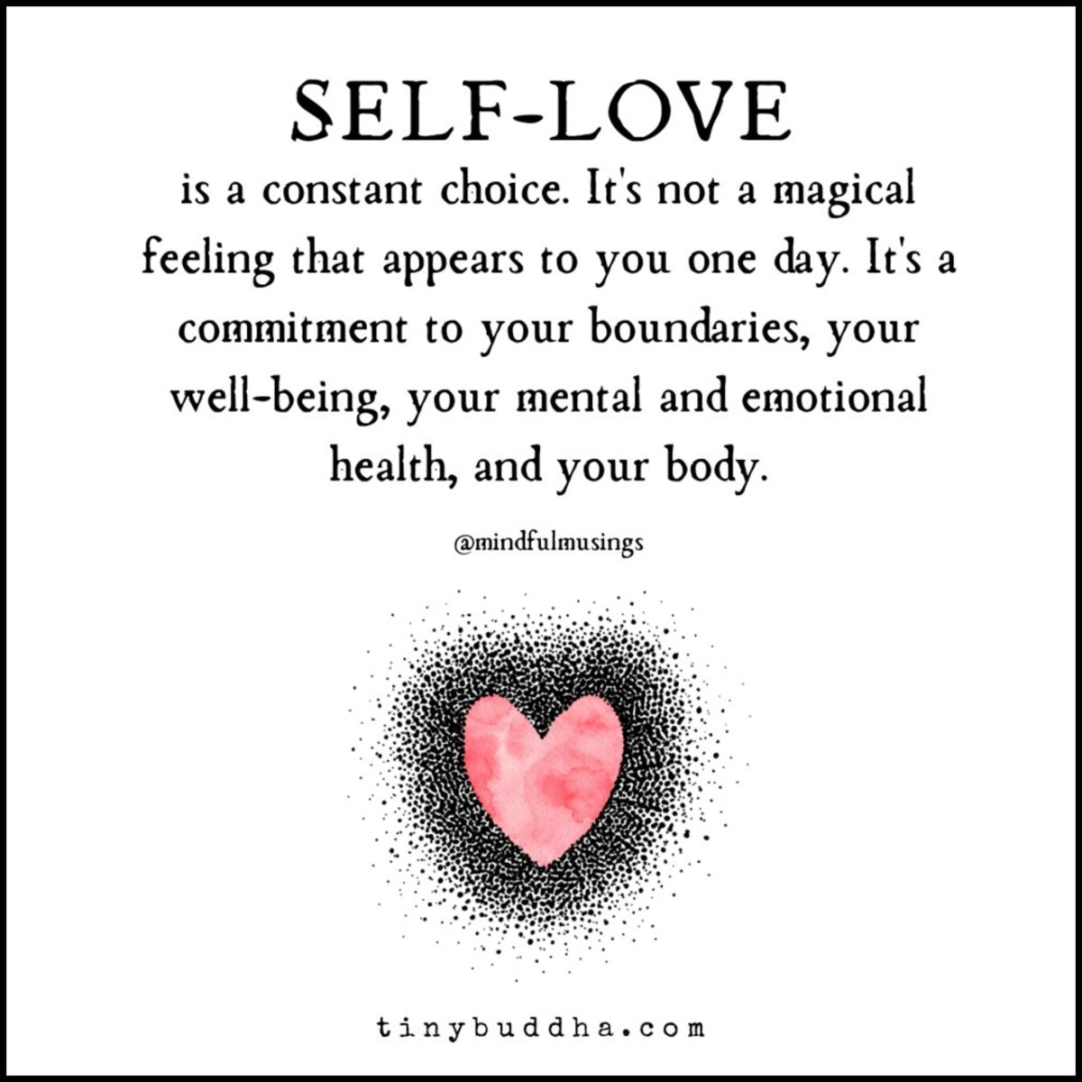 Learning to Love and Accept Ourselves