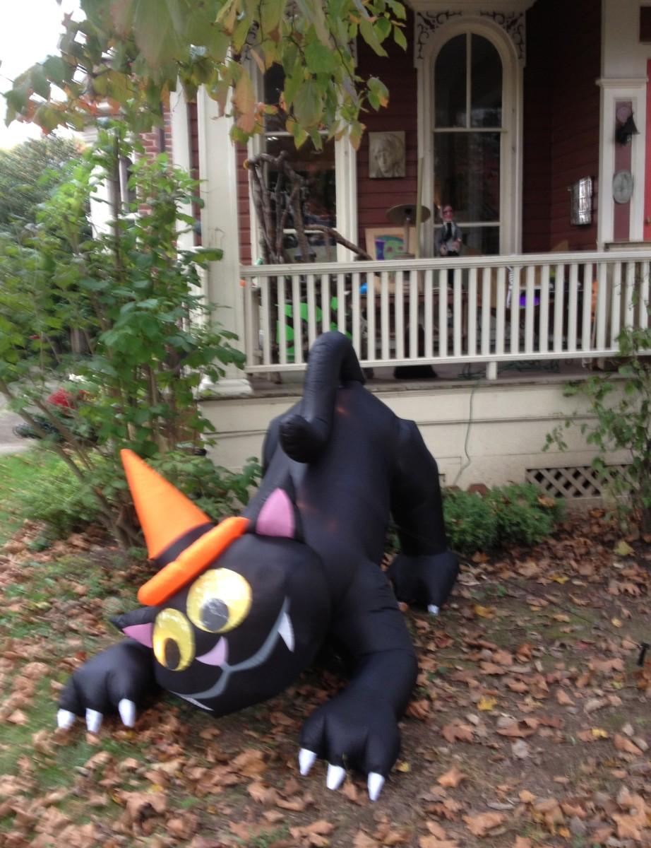 Lambertville Halloween Decoration