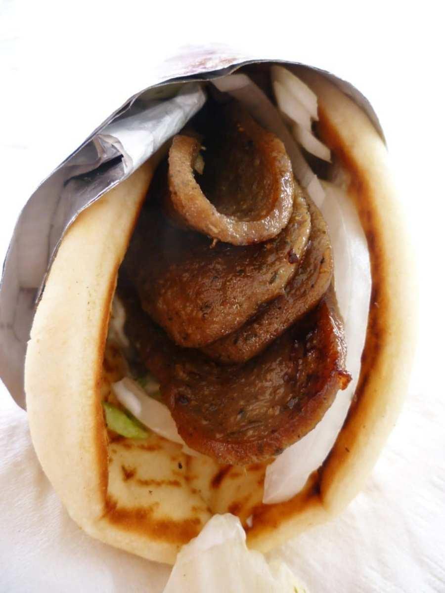 Gyros sandwich – Delicious!