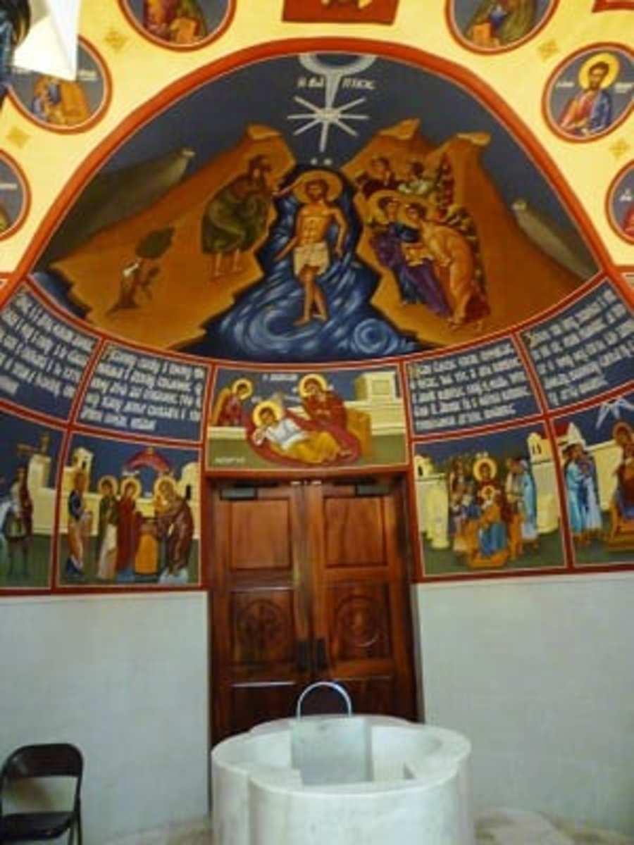 Chapel at St. Basil the Great Greek Orthodox Church