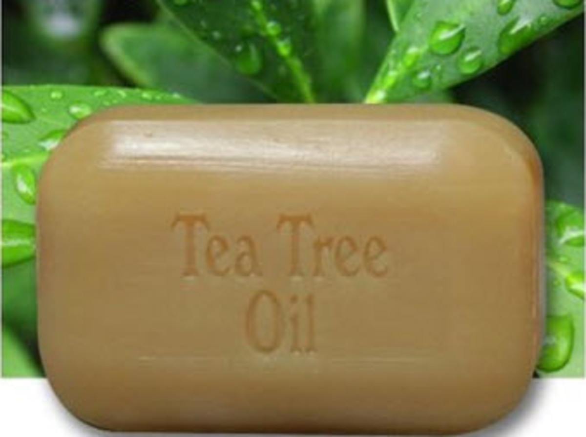 Tea tree oil may be used to treat acne.