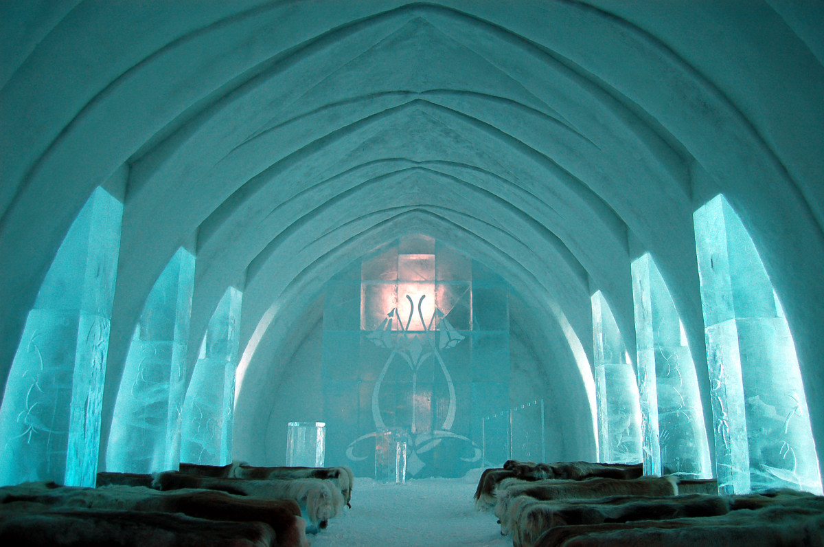 Staying in an ice hotel is a luxury getaway like no other.
