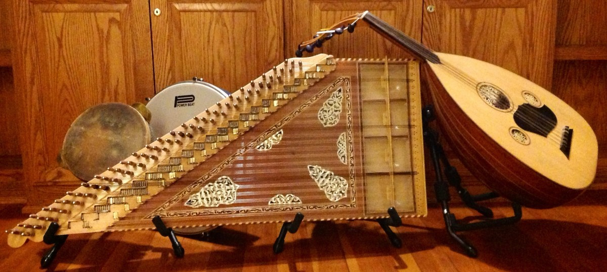Selection of Middle eastern Instruments