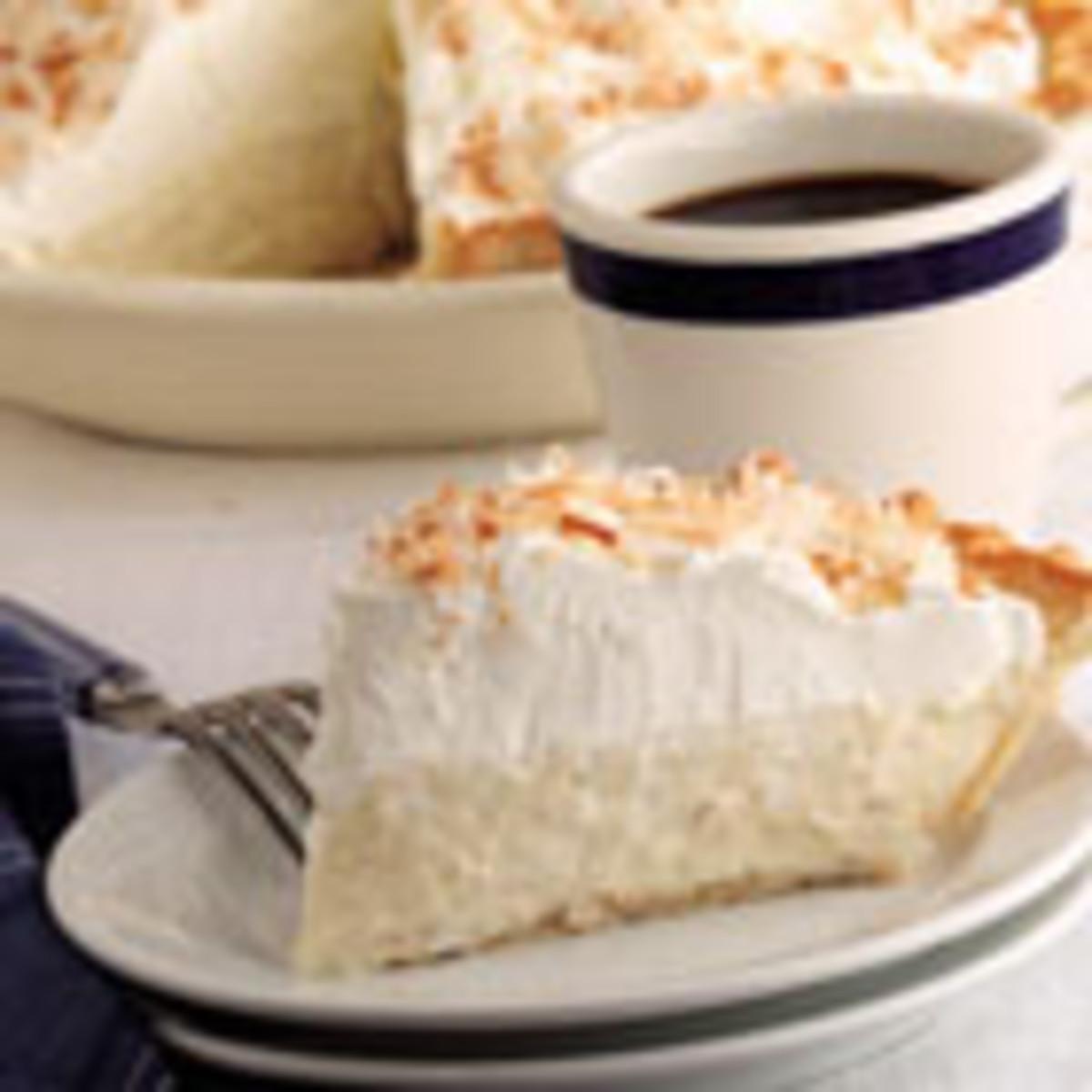 Old Fashioned Coconut Cream Pie (from Allrecipes)