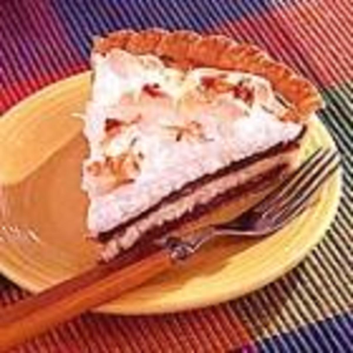 Chocolate Coconut Cream Pie (from Allrecipes)
