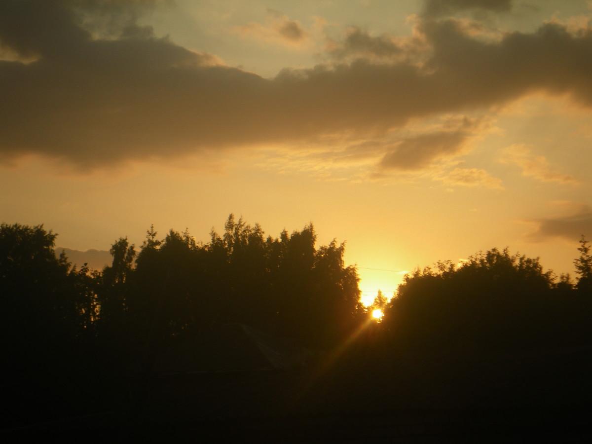 Many a Golden Sunset