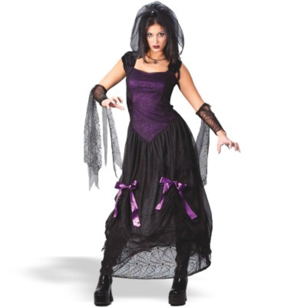 Easy Gothic Halloween Costumes Gothic Bride Halloween Costume