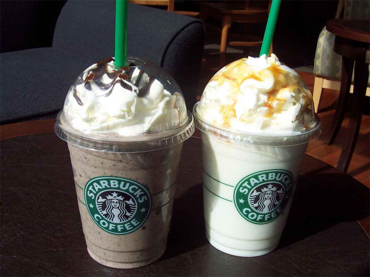 """Secret Menu"" Frappuccinos With Slightly Less Sugar"