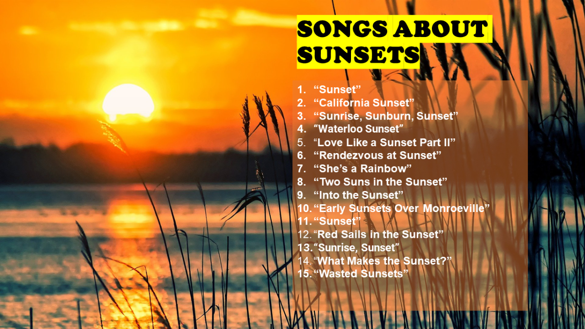100 Songs About Sunsets