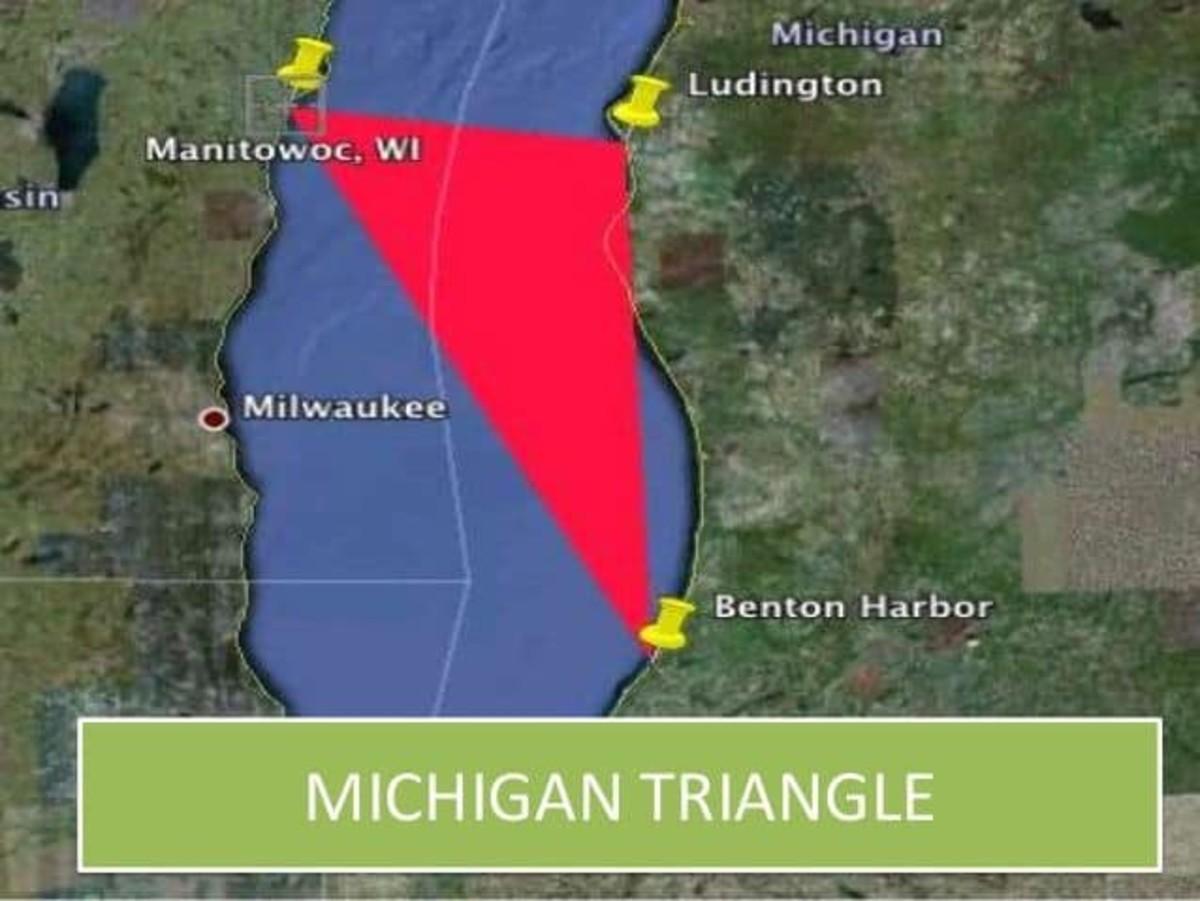 The Devil's Triangle of Lake Michigan, Rival to the Bermuda Triangle