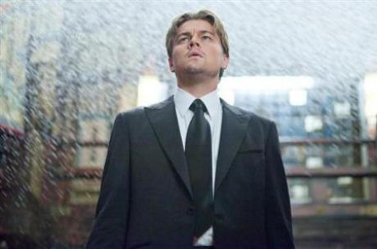Leonardo DiCaprio in Inception.