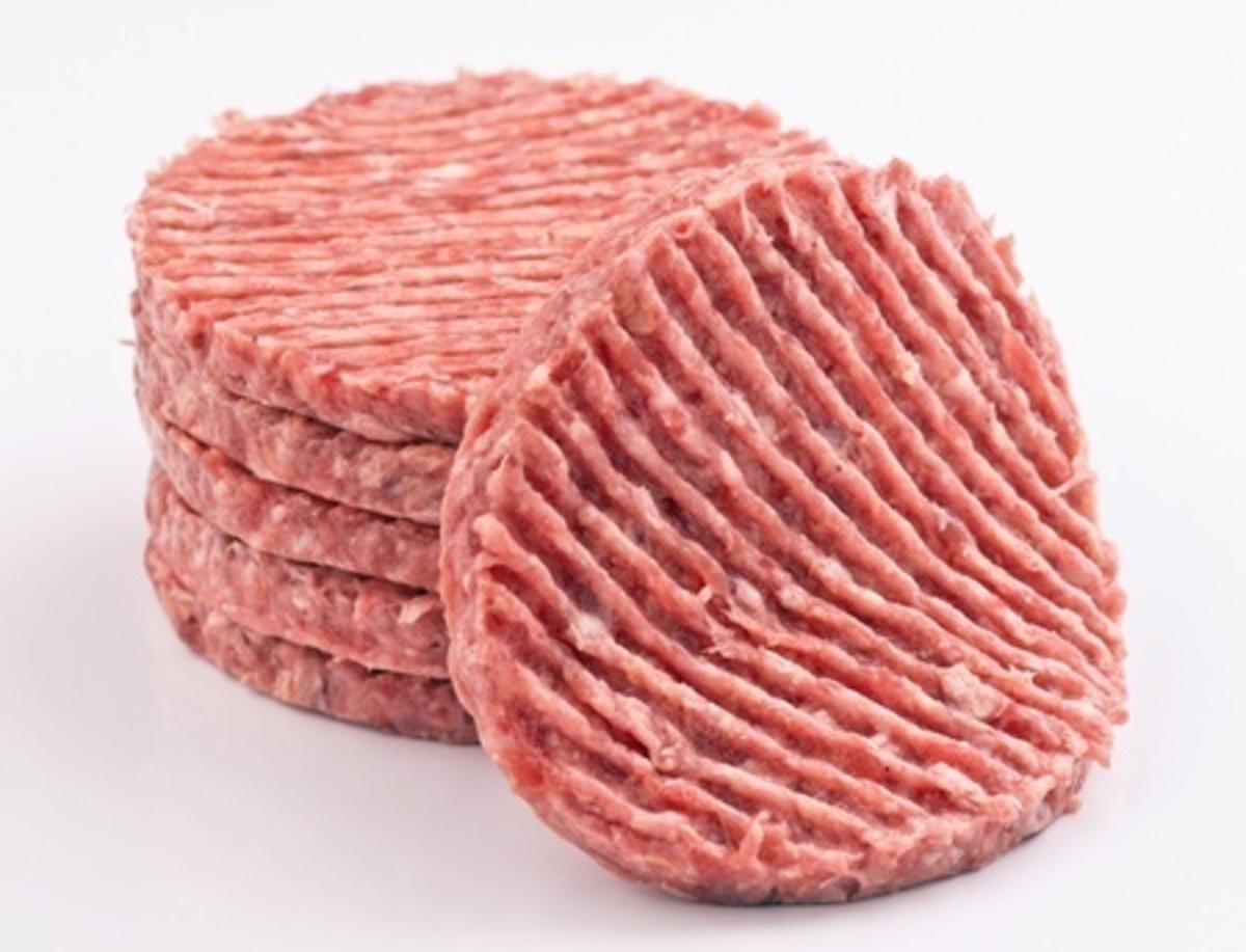 Lovely Hamburgers, aren't they?  They could have Pink Slime added to them before they were purchased!