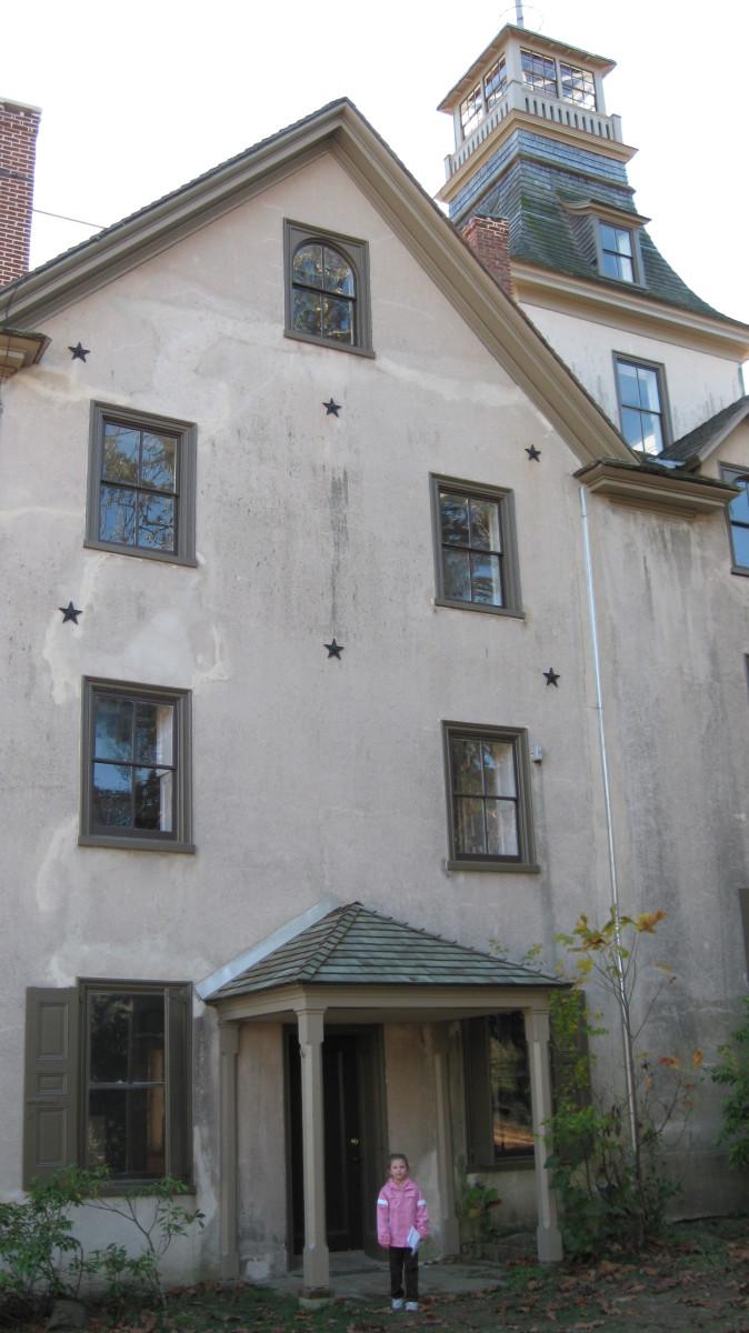 The famous Batsto Mansion.