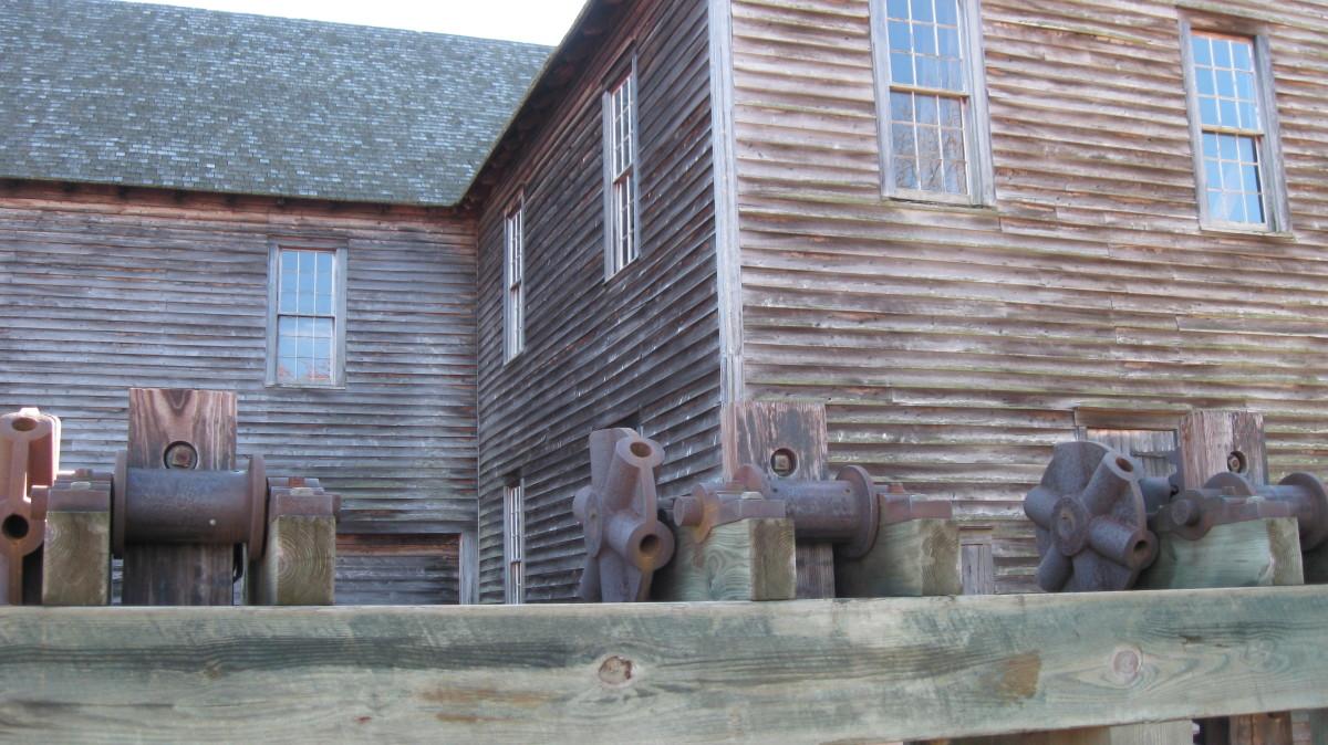 Lumber Mill dam view