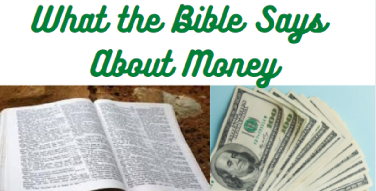 What the Bible Says About Money