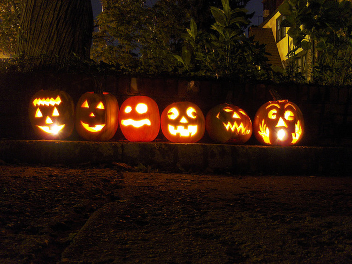 Jack O'Lanterns are still lit in modern America, in spite of, or because of, pagan traditions.