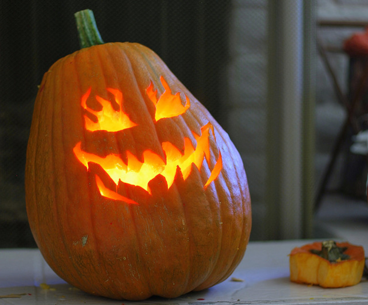 Carved pumpkins can have a ton of personality, if you carve them well!