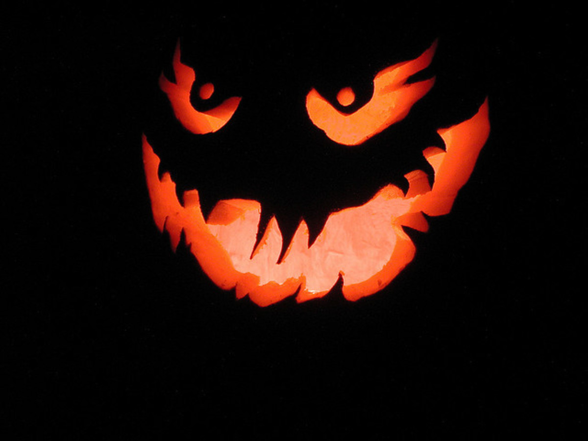 The Jack O'Lantern comes from a traditional story about a man named Stingy Jack.