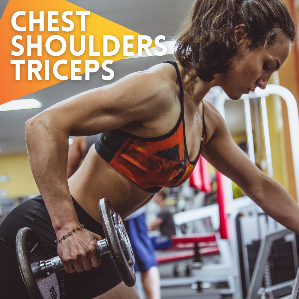 Weight training exercises for the chest, shoulders, and triceps are becoming more popular with women. Find out why along with detailed explanations of 8 simple exercises.