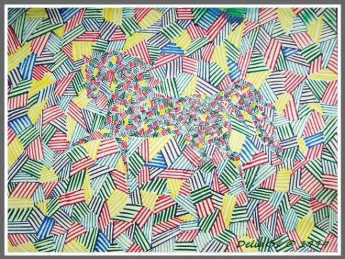 doodle crosshatch