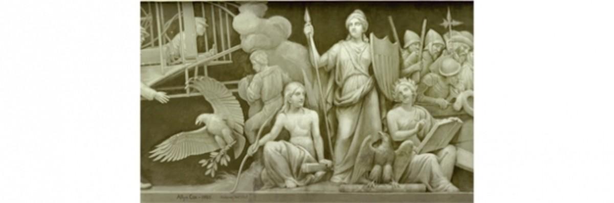 "1. ""America and History"" Constantino Brumidi 1878-1880"