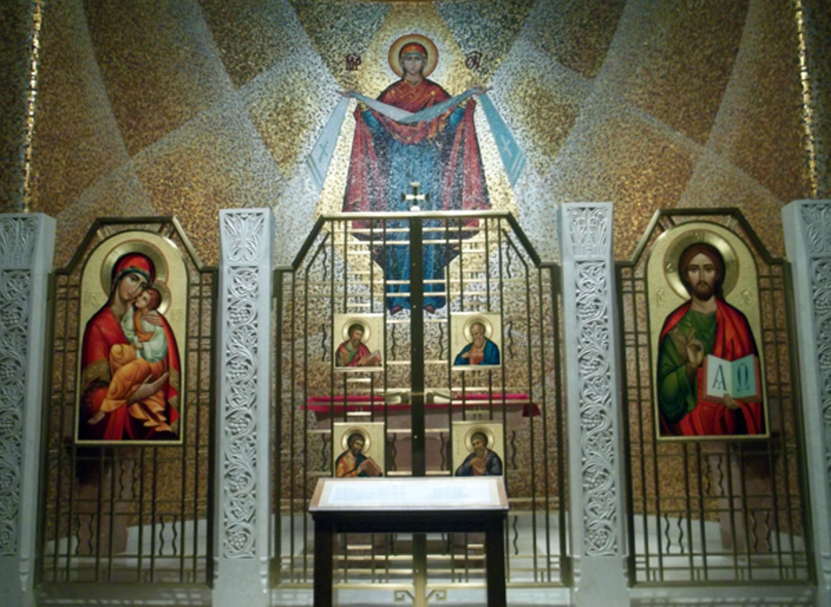 The Basilica of the National Shrine of the Immaculate Conception