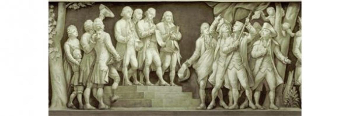 "12. ""Declaration of Independence"" (1776) Filippo Costaggini 1880-1889"