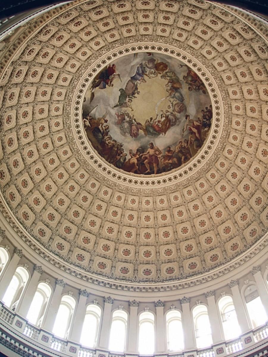 Apotheosis of Washington Capitol Hill