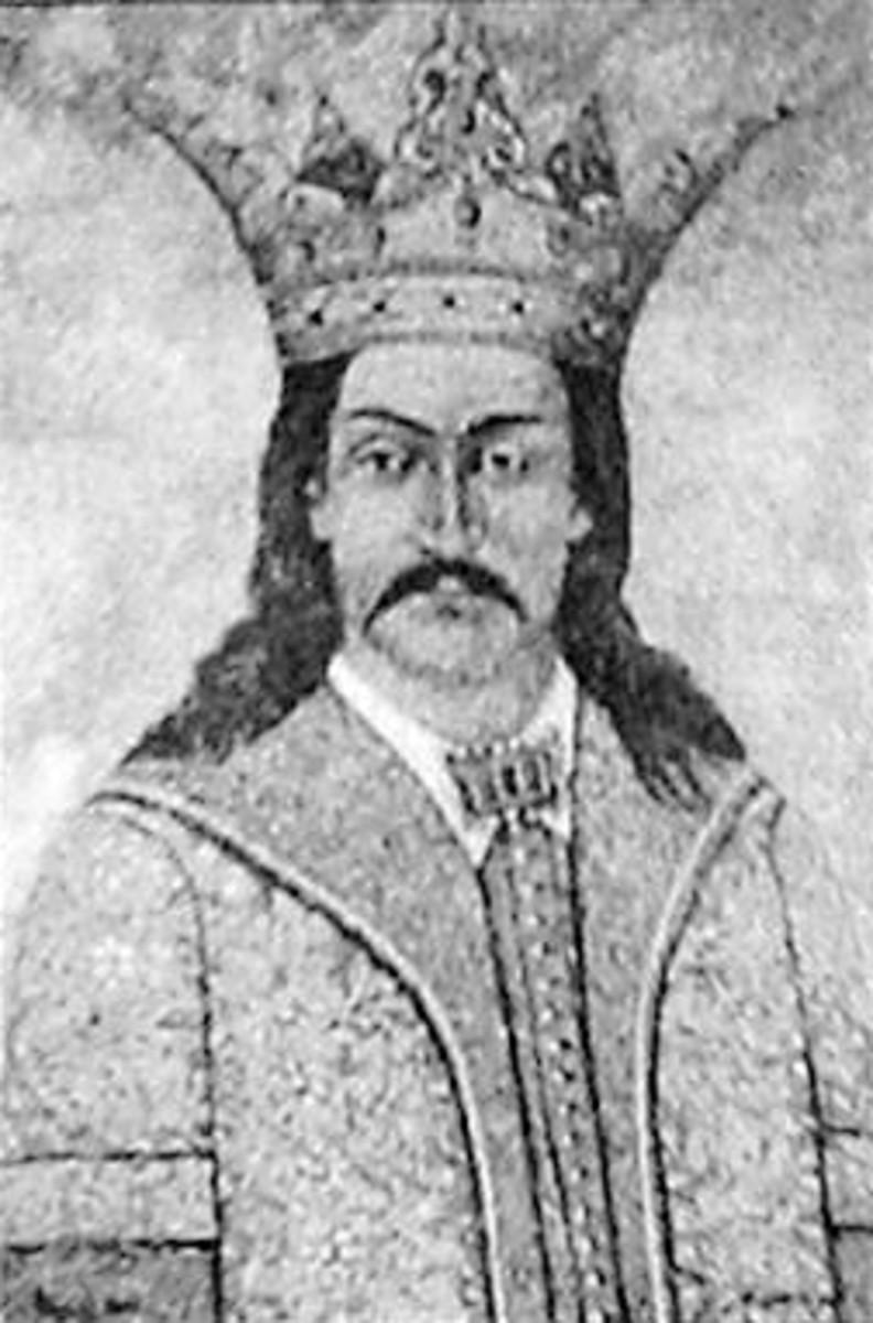 Vladislav I, Son of Nicolae Alexandru, half brother to Radu I, and Great Grandfather of Vlad III Dracula