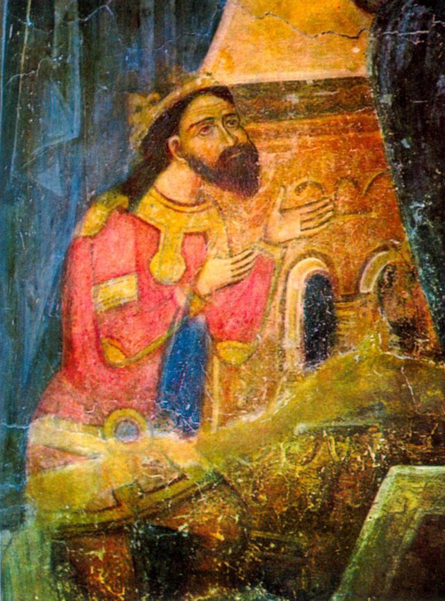 Basarab I of Wallachia, great-great-great grandfather of Vlad III Dracula.