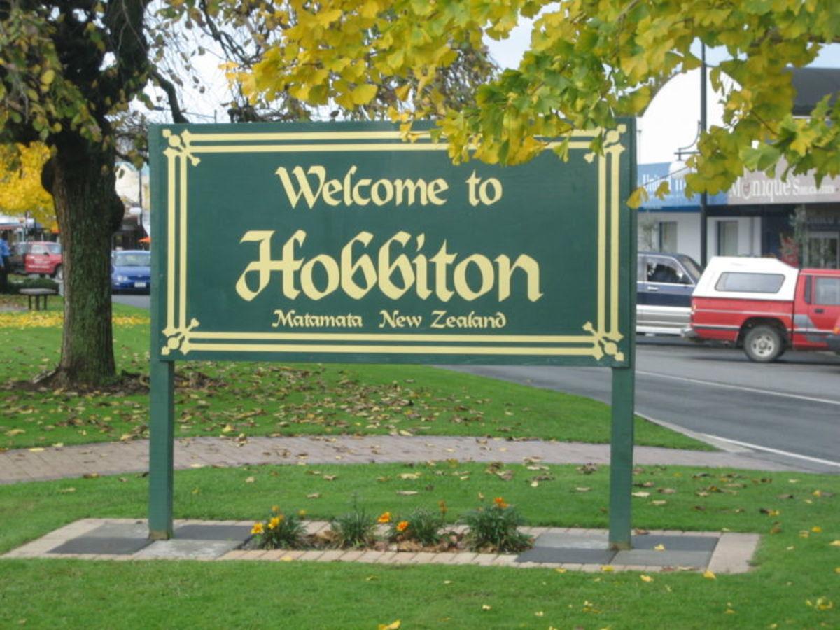 Matamata, NZ - Home to Hobbiton