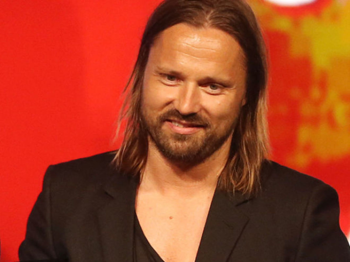 Max Martin as he appeared receiving his first GRAMMY for Non-Classical Producer of the Year.