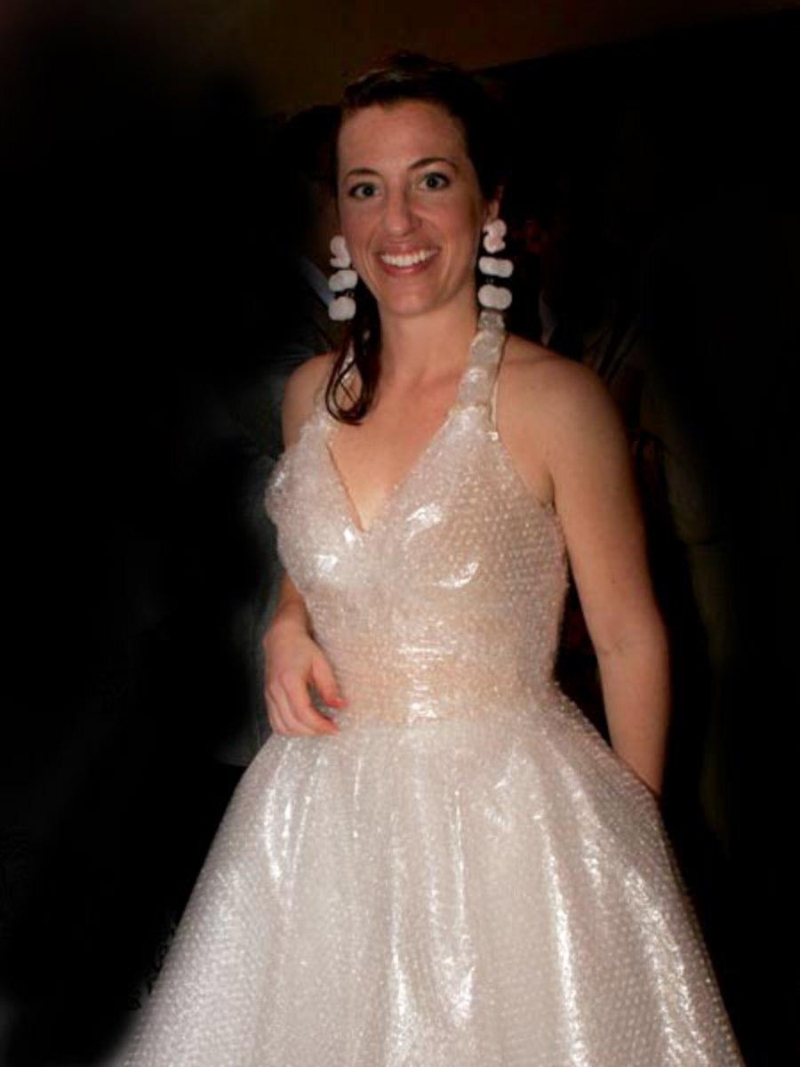 Bubble pack dress