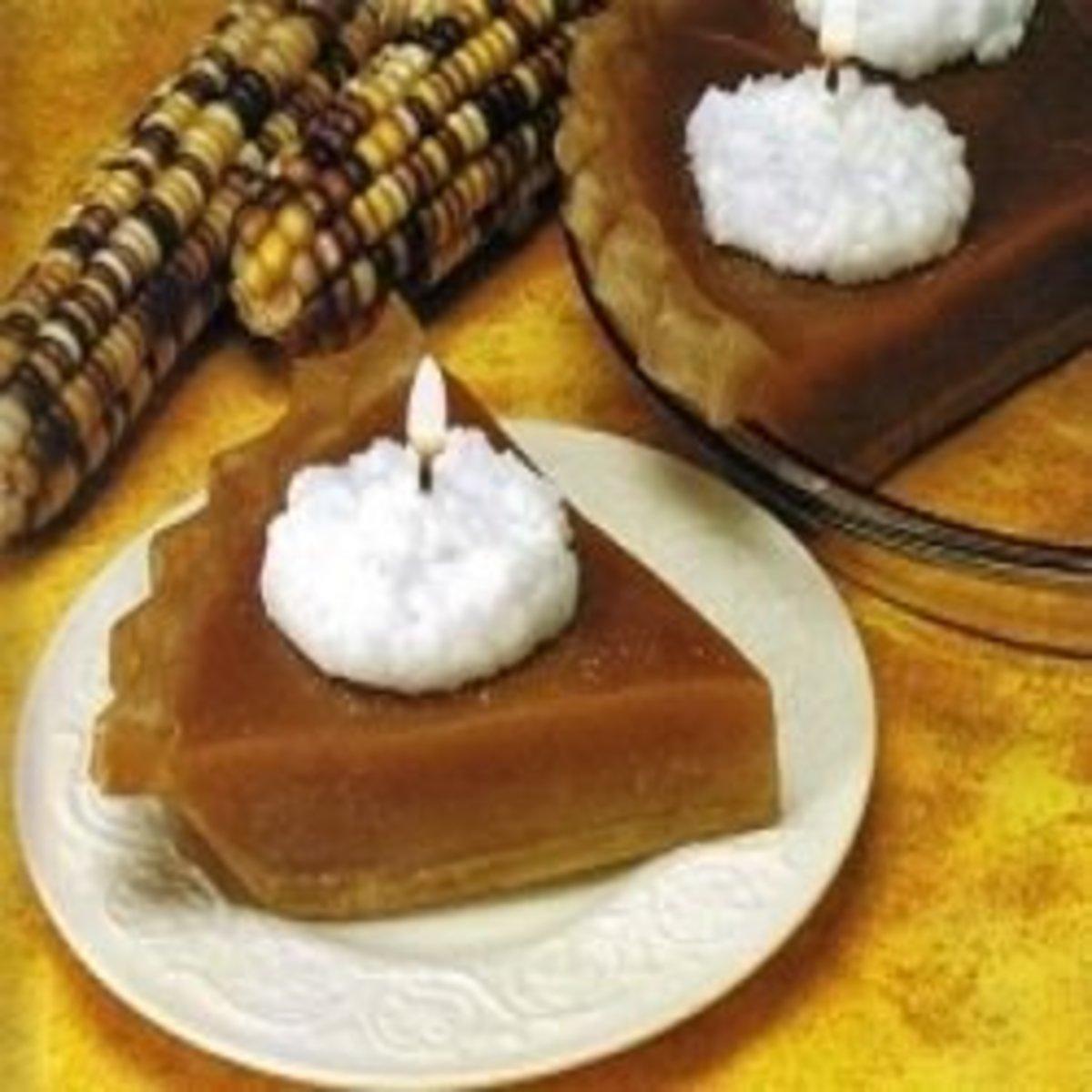pumpkin pie candles
