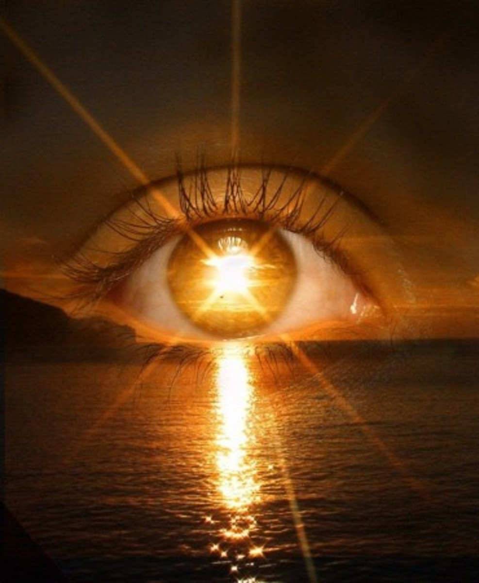 I have begun to practice Sun Gazing, every morning and night and besides the first day in my eyes have adjusted quite easily.