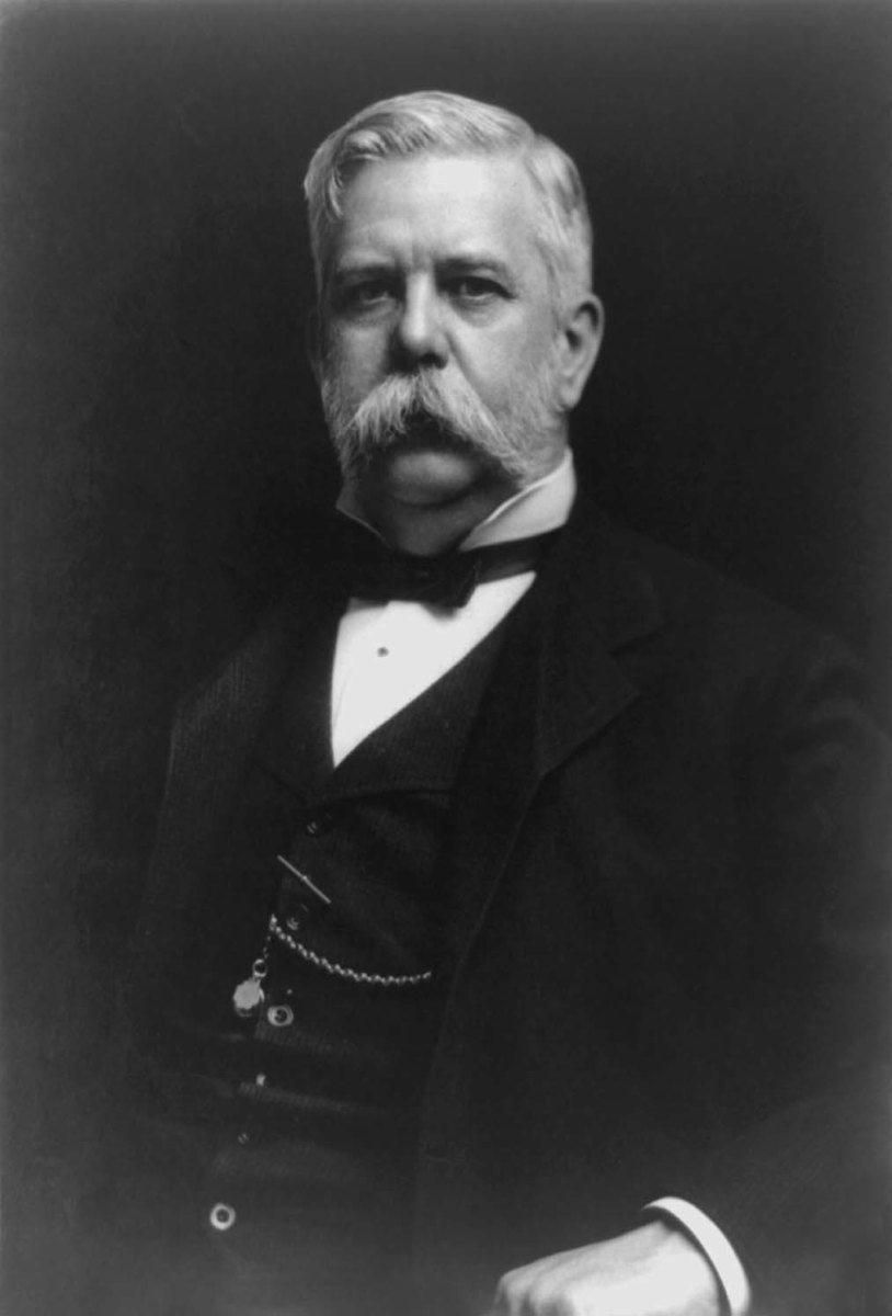 George Westinghouse was the leading proponent of AC electric current, which eventually won out over DC current.
