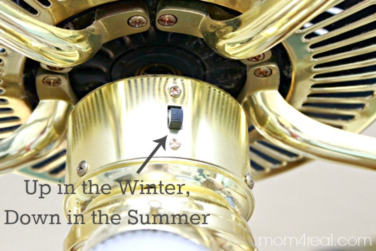 Change the switch for summer and winter use