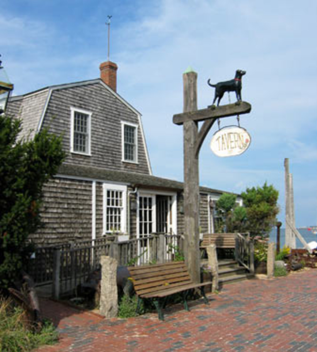 Black Dog Tavern, Vineyard Haven, MA
