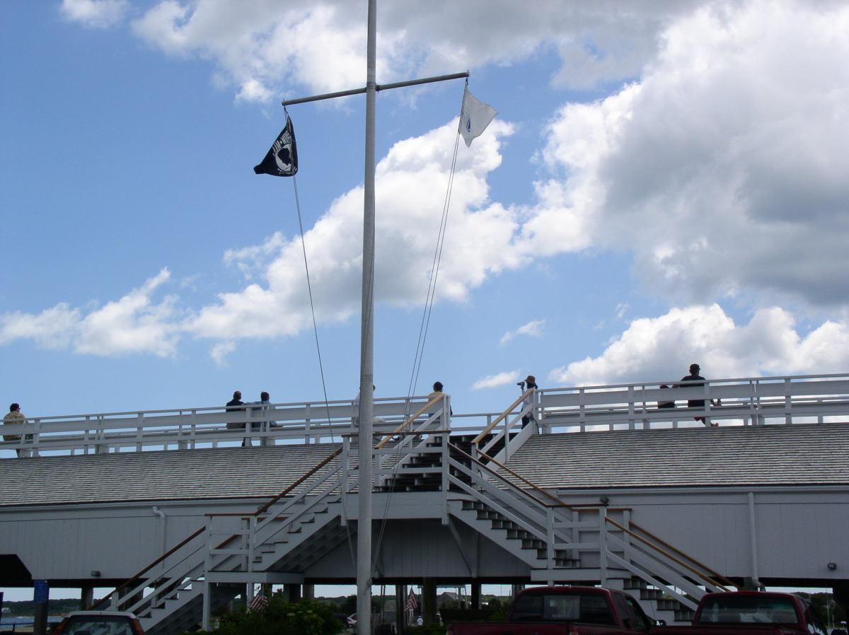Memorial Wharf upper deck, Edgartown, MA