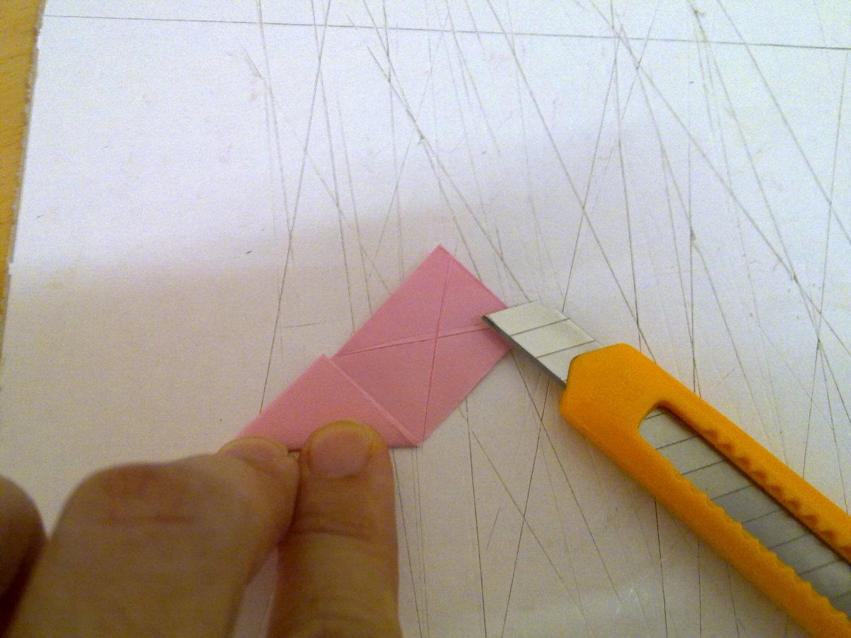 "cut ""X"""