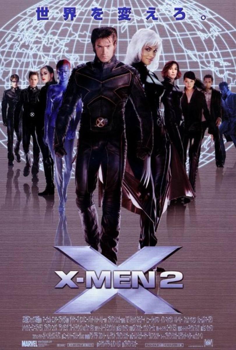 X-Men 2 (2003) Japanese poster