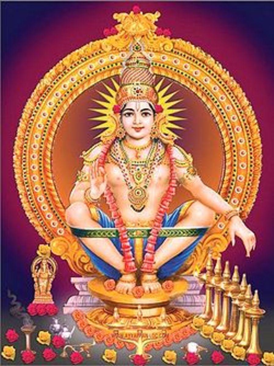 Lord Ayyappa, God of Sabarimala